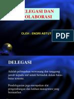 6. Delegasi Dan Kolaborasi
