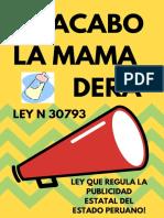 Ley n 30793regula El Gasto Publicitario Del Estado (1)