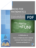 Mathematics Tricks for Entry Tests (2nd Edition)