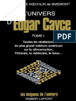 Edgar Cayce, Dorothée Koechlin de Bizemont - L'Univers d'Edgar Cayce Vol1