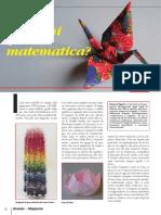 Origami e Matemática