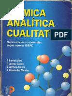 Quimica Analitica Cualitativa Burriel