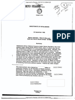 CIA document on Nelson Mandela, 26 September 1986