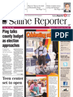 Saline Reporter Front Page Sept. 30