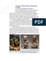 Possible Western Mexico Cultural Traditions at Mississippian Period Sites in Georgia