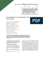 Cryo Coagulation