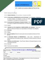 """Seminário """"Formas de Intervenção na Multideficiência"""""""