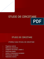 2Studii de Cercetare