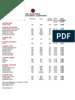 Lista de Precios FS - DM Colaboradores 2018
