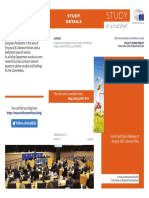 Building Blocks for a Future Cohesion Policy – First Reflections - STUDY in a nutshell PE601.974