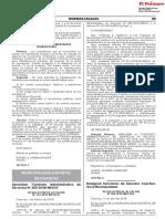 Aprueban Contrato Administrativo de Servicios N° 265-2018-MDCH