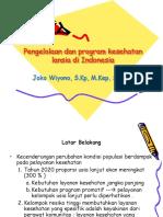 Jokowi Pengelolaan Dan Program Kesehatan Lansia Di Indonesia Rkz Pebruari 2016