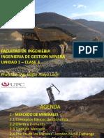 Unidad 1 Clase 4 Mercados UPC