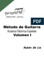 Método de Guitarra -VOLUMEN I