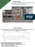 Fotomontaje Arte y Diseño Cajamarca