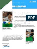 Em que fase da formação do jovem inicia-se de forma construtiva o Aprendizado Maker
