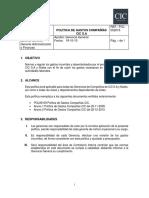 2015 07 29 Pol-052015 Política de Reservas y Solicitudes a Hoteles