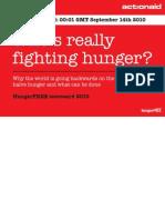 ActionAid Scorecard Report 2010