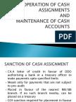 Cash Assignments