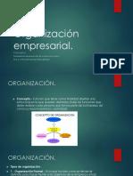 2.- Organización empresarial