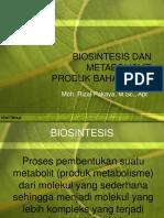 01-Biosintesis Dan Metabolisme Seny Bahan Alam