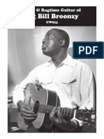 Blues and Ragtime Guitar Big Bill Broonzy
