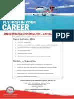 Vacancy Add - Administrative Coordinator (2)