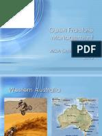 Open Fracture Management Bali 2015