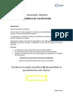 Ineval Rúbrica Portafolio Docente 2018