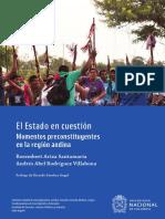 El Estado en cuestión. Momentos preconstituyentes en la región andina.