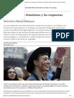 Maxyne Molineux_Entre Las Luchas Feministas y Las Respuestas