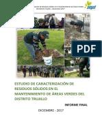 Informe Residuos Sólidos Áreas Verdes Final