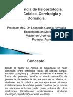Conferencia de Fisiopatología Cefalea