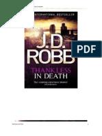 J. D. Robb - Serie Ante La Muerte 46 - Ingrato En La Muerte.pdf
