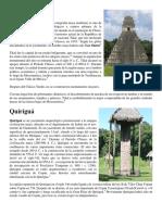 Tikal, Quirigua, Etc