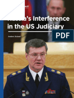 Russia's Interference in the US Judiciary