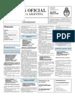 Boletin Oficial 29-09-10 - Tercera Seccion