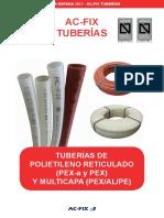 Ac Fix Tuber as y Accesorios Para Fontaner a y Suelo Radiante