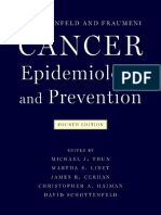 Cancer Epidemiology and Prevention, 4th Edition