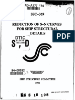 Reduction of Sn Curve for Ship Structures