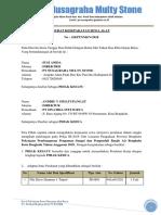 Surat Dukungan Alat Pile Drive Hammer