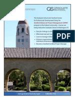 Stanford Graduate School SAPM