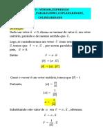 9 Versor Expr Cartesiana Paralelismo Coplanar Colinear