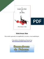 Watchman Nee - A Salvação Da Alma