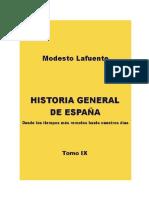 Historia General de EspanA. IX_ - Modesto Lafuente