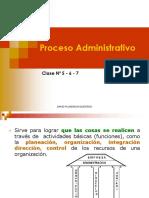 Clase Nº 05-06-07 - Proceso Administ.