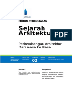 Modul Sejarah Arsitektur.doc