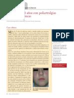 3.1. Paciente de 14 Años Con Poliartralgias y Lesiones Cutáneas