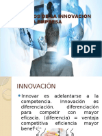 Beneficios de La Innovación Para Una Empresa