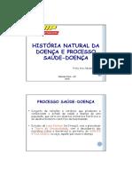 1. Historia Natural Da Doença 2018